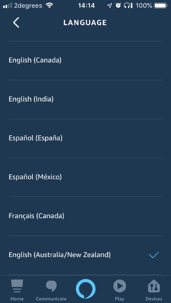 Language Updated